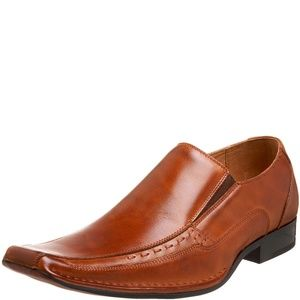 Stacy Adams Mens Templin Loafers Cognac 11M